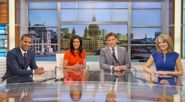 The Good Morning Britain studio was evacuated