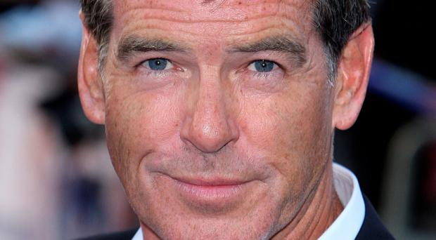 Stopped: Pierce Brosnan