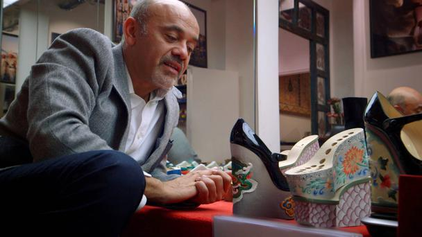 Christian Louboutin's shoes sell for anything from £600 to £6,000