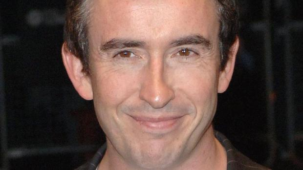 Comedian Steve Coogan, pictured, is backing Andy Burnham to be Labour leader
