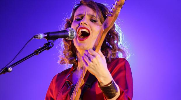 Singer Anna Calvi attacked pressure put on women to be 'beyond perfection'