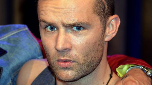 Harry Judd married Izzy Johnston in December 2012