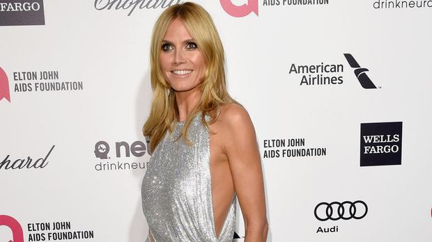 Supermodel Heidi Klum has hit back at Donald Trump's comments