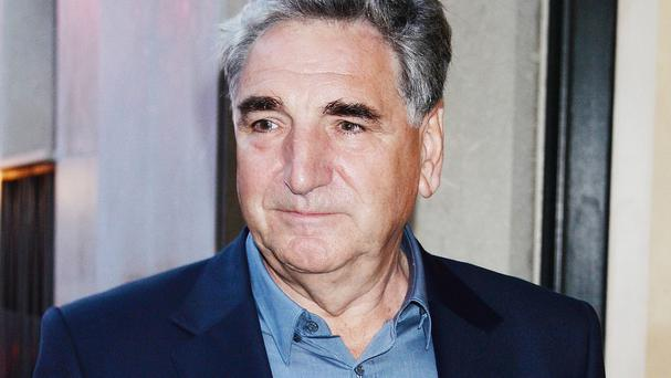 Downton Abbey star Jim Carter said emotions were running high on the final day of filming