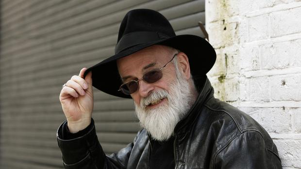 Author Sir Terry Pratchett died in March after battling Alzheimer's disease