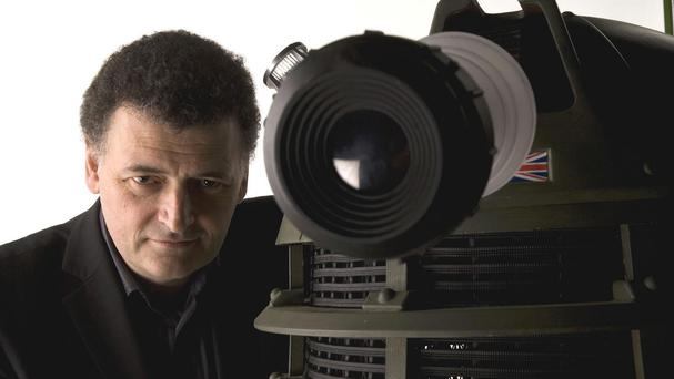 Like Peter Capaldi, Doctor Who executive producer Steven Moffat is a lifelong fan of the show