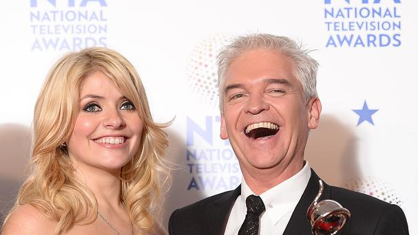 This Morning presenters Holly Willoughby and Phillip Schofield