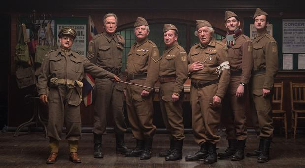 The cast of the new Dad's Army film (Universal Pictures/PA)