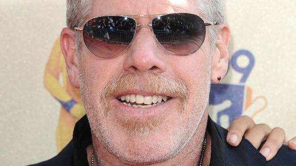 Ron Perlman was scared about taking on his new acting role in Hand Of God