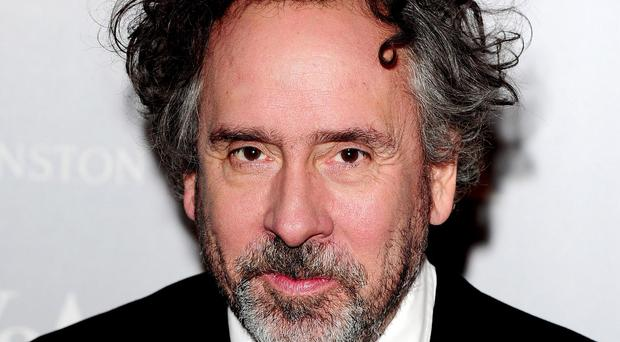Film director Tim Burton, who will switch on the Blackpool Illuminations
