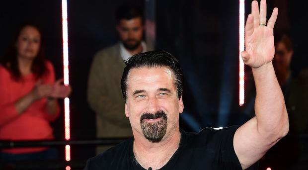 Daniel Baldwin is evicted from the house during the latest series of Celebrity Big Brother