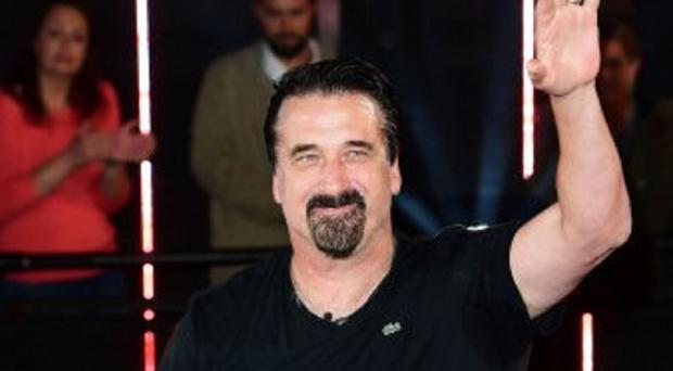 Daniel Baldwin is evicted from the house during the latest series of Celebrity Big Brother at Elstree Studios, Borehamwood.