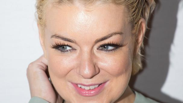 Sheridan Smith paid tribute to Cilla Black, saying her award was 'tinged with sadness'