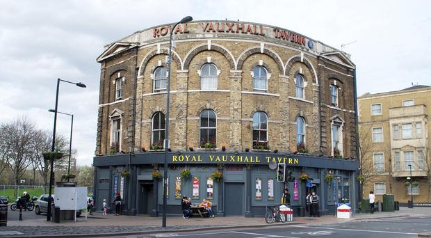The Royal Vauxhall Tavern in London has received Grade II listed status. (Department for Culture, Media and Sport/PA)
