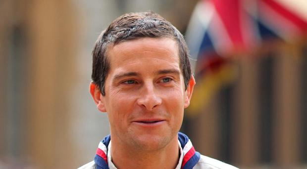 Bear Grylls stars in a new ITV natural history series, Britain's Biggest Adventures