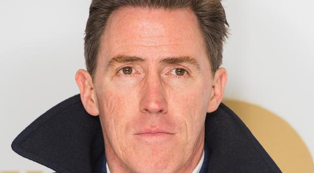 Rob Brydon said that his school drama teacher helped give him the confidence to carve out a career in acting