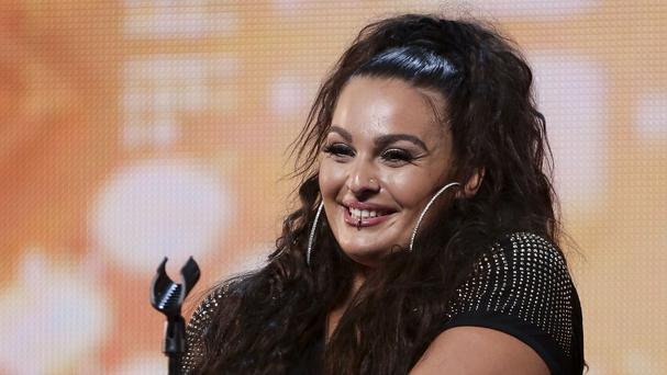 Monica Michael during the audition stage for The X Factor. (SyCo/Thames TV)