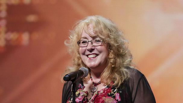 Mary O'Sullivan during the audition stage for the ITV1 talent show The X Factor (SYCO/THAMES TV/PA)