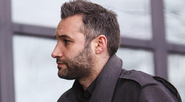 Singer Dane Bowers appeared at Croydon Magistrates' Court, accused of assaulting his ex-girlfriend, Sophia Cahill