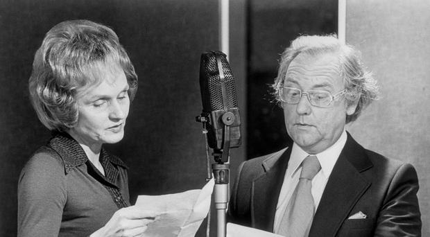A programme speculates on the real reason for the barn fire that killed off Grace Archer (played by Ysanne Churchman, left) in a 1955 script on the night ITV launched