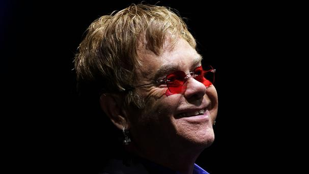 Elton John has revealed he has spoken to Vladimir Putin