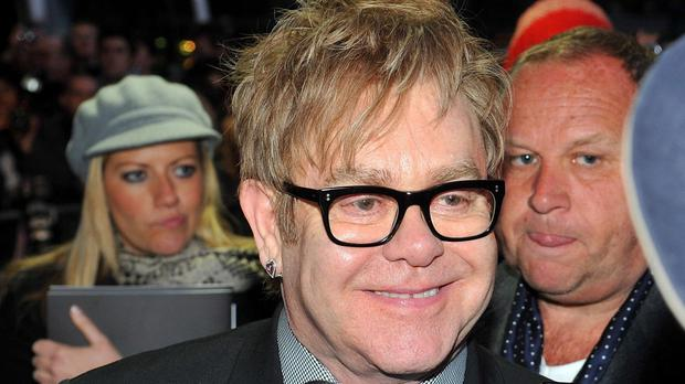 Sir Elton John posted a picture of Vladimir Putin on his Instagram account