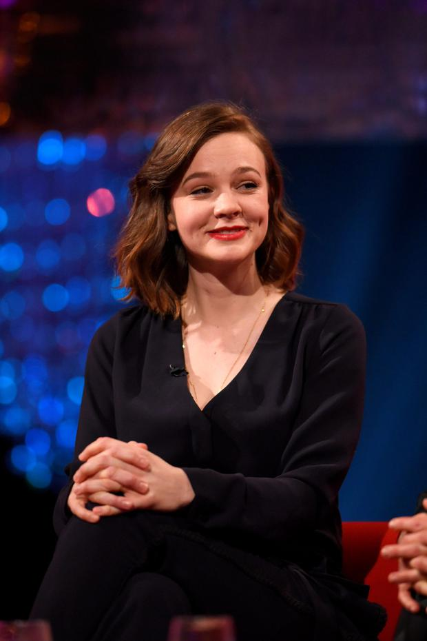 Hitting out: Carey Mulligan