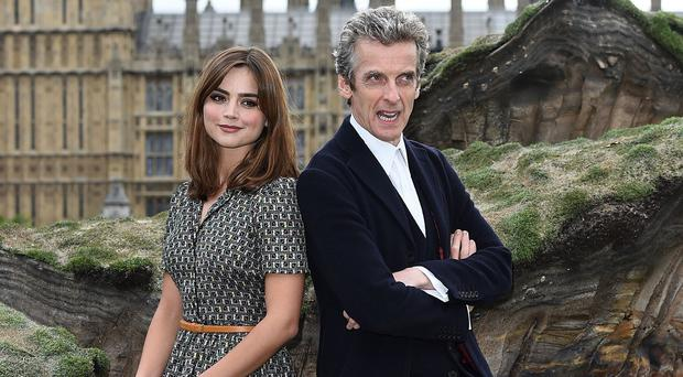 Doctor Who stars Peter Capaldi and Jenna Coleman return in the new series