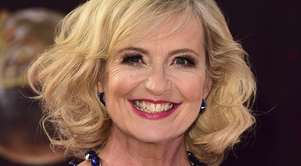 Strictly Come Dancing contestant Carol Kirkwood