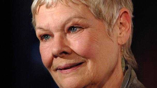 Dame Judi Dench was asked about her favourite leading man
