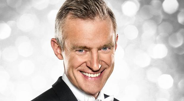 Jeremy Vine has told how he was left blushing after accidentally touching Kirsty Gallacher's breast on Strictly (BBC/PA)