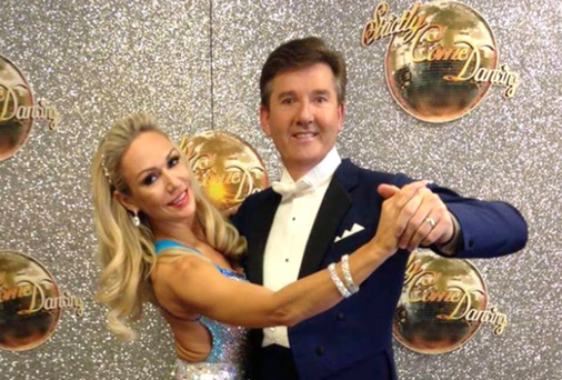 Daniel and his Strictly partner Kristina Rihanoff