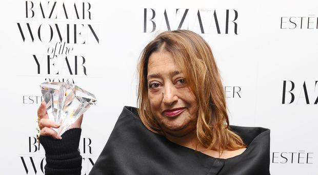Zaha Hadid did not approve of the line of questioning on the Today show