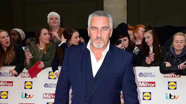 Paul Hollywood is a judge on The Great British Bake Off
