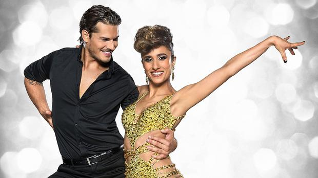 Anita Rani with her dance partner Gleb Savchenko on Strictly Come Dancing (BBC handout)