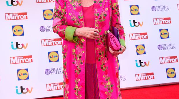 Gloria Hunniford attends the Pride of Britain awards