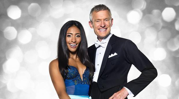 Jeremy Vine is partnered with Karen Clifton for Strictly (BBC/PA Wire)