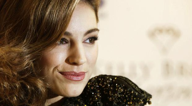 Kelly Brook topped Intel Security's list of the most dangerous celebrity names to put into search engines