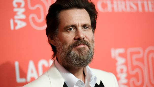 Jim Carrey was shocked and saddened to learn of the death of ex-girlfriend Cathriona White (AP)