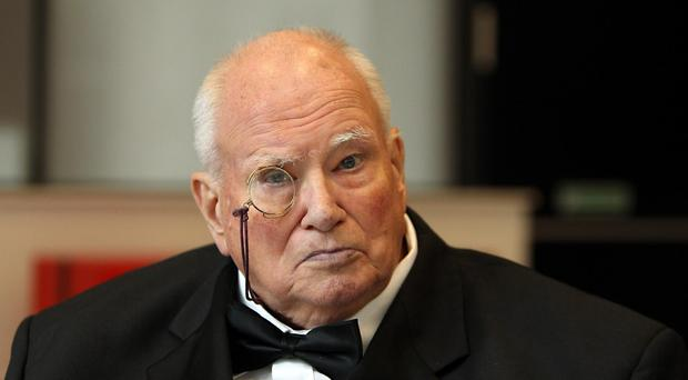 Sir Patrick Moore's monocle is going under the hammer