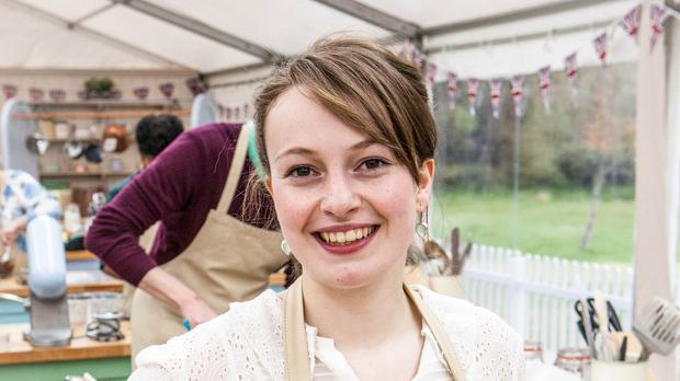 Flora Sheddon made the final four contestants of the Great British Bake Off (BBC/PA)