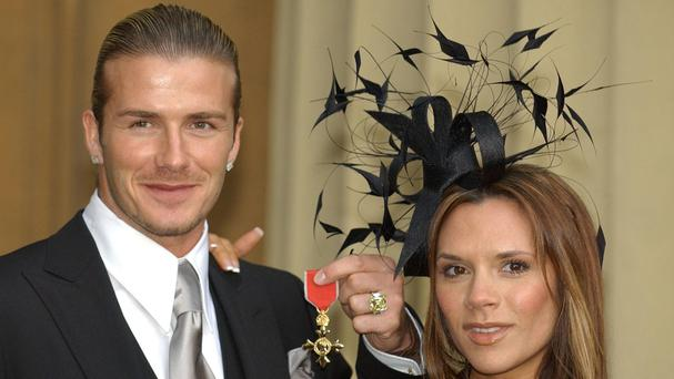 Victoria Beckham is a last-minute packer, husband David said