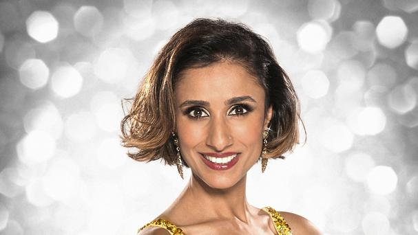 Anita Rani who is competing in Strictly Come Dancing