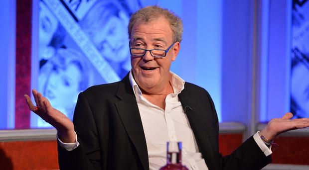 Jeremy Clarkson hosts the first programme in the latest series of Have I Got News For You (Richard Kendal/Hatrick/BBC/PA Wire)