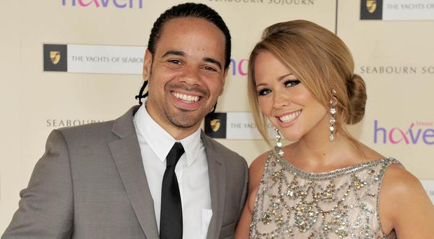 Kimberley Walsh and Justin Scott have a 13-month-old son called Bobby