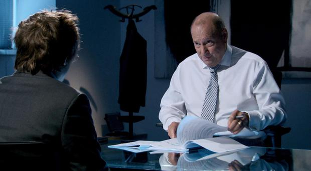 Claude Littner is a feared interviewer on The Apprentice (BBC/PA Wire)