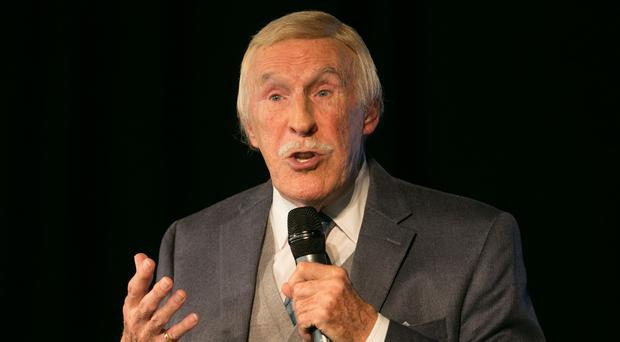 Sir Bruce Forsyth was ordered to rest for a week