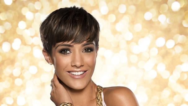 Strictly Come Dancing 2014 contestant Frankie Bridge