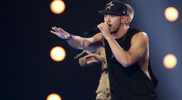 Simon Cowell slammed The X Factor's Mason Noise in the Six Chair Challenge (ITV/PA)