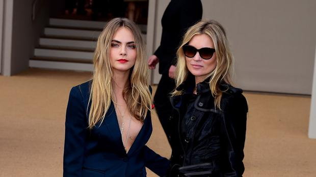 Cara Delevingne and Kate Moss both spoke out about selfie requests in public spaces